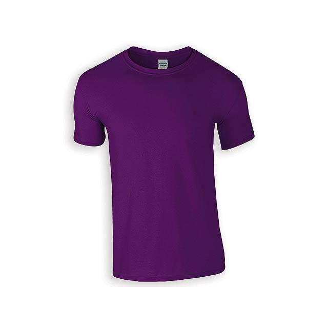ZIKI MEN pánské tričko, 153 g/m2, vel. S, GILDAN, Fialová - fialová