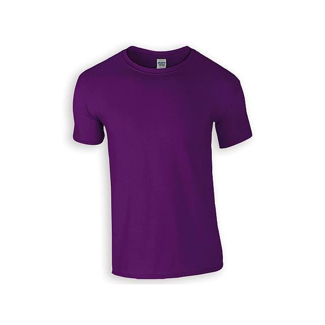 ZIKI MEN pánské tričko, 153 g/m2, vel. M, GILDAN, Fialová - fialová