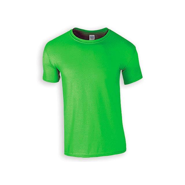 ZIKI MEN pánské tričko, 153 g/m2, vel. M, GILDAN, Světle zelená - zelená