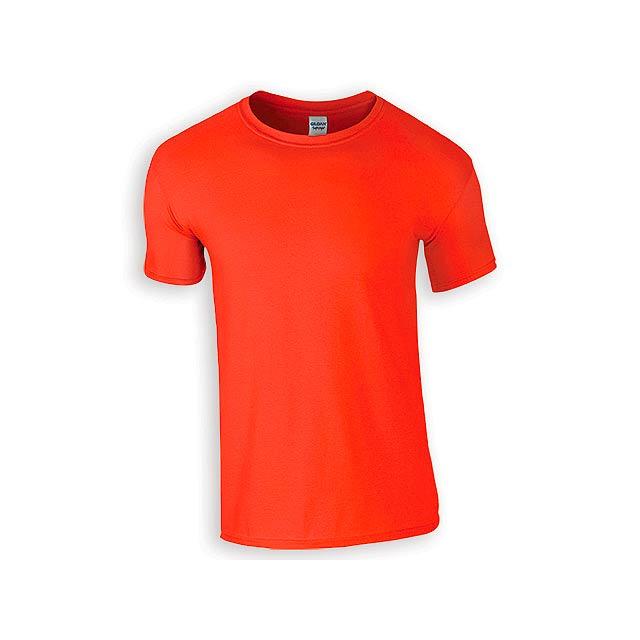 ZIKI MEN pánské tričko, 153 g/m2, vel. L, GILDAN, Oranžová - oranžová
