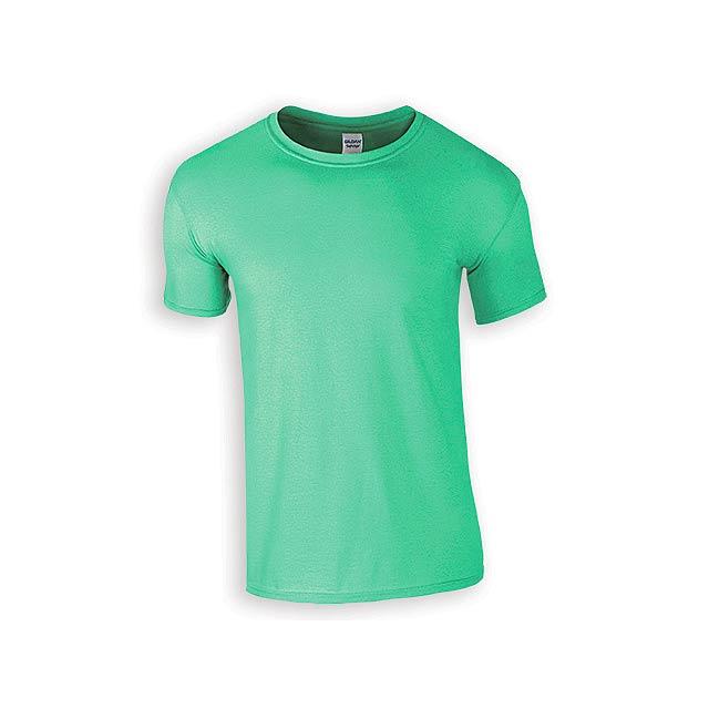 ZIKI MEN pánské tričko, 153 g/m2, vel. L, GILDAN, Mátově zelená - zelená