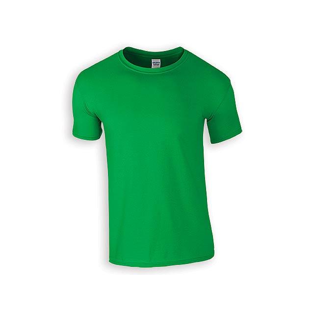 ZIKI MEN pánské tričko, 153 g/m2, vel. XL, GILDAN, Zelená - zelená