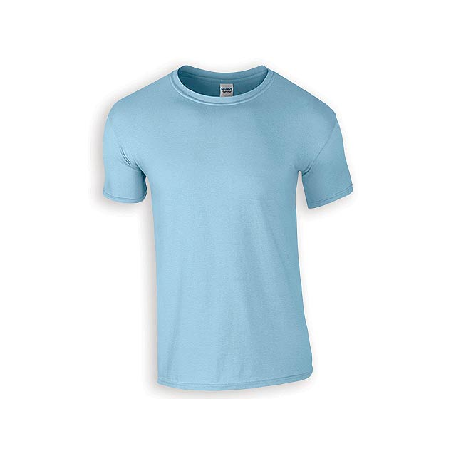 ZIKI MEN pánské tričko, 153 g/m2, vel. XL, GILDAN, Světle modrá - modrá