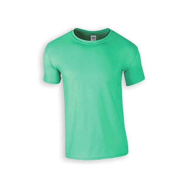 ZIKI MEN pánské tričko, 153 g/m2, vel. XL, GILDAN, Mátově zelená - zelená