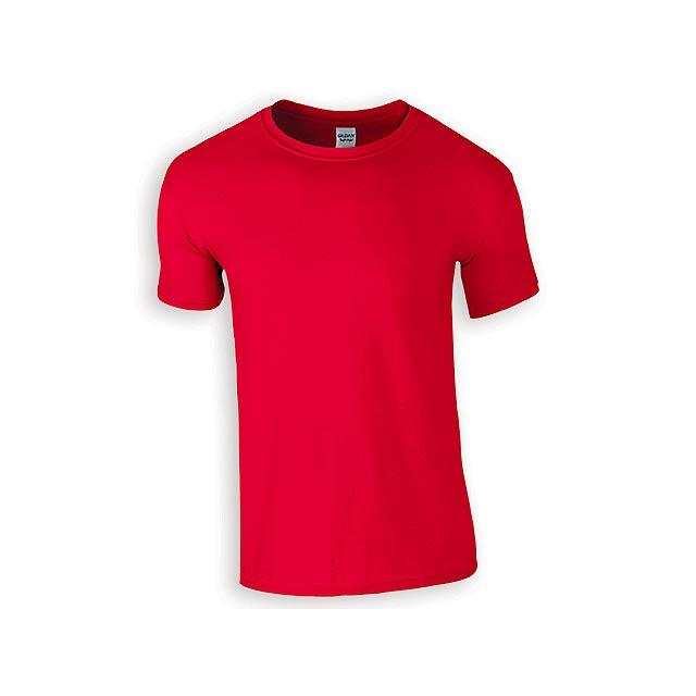 ZIKI MEN pánské tričko, 153 g/m2, vel. XXL, GILDAN, Červená - červená