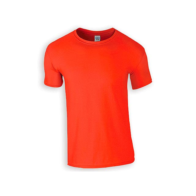 ZIKI MEN pánské tričko, 153 g/m2, vel. 3XL, GILDAN, Oranžová - oranžová