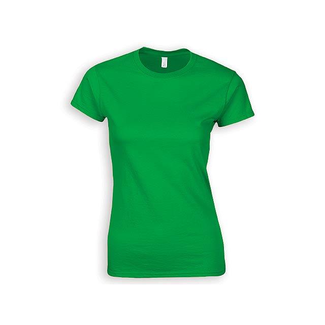 ZIKI WOMEN dámské tričko, 153 g/m2, vel. S, GILDAN, Zelená - zelená