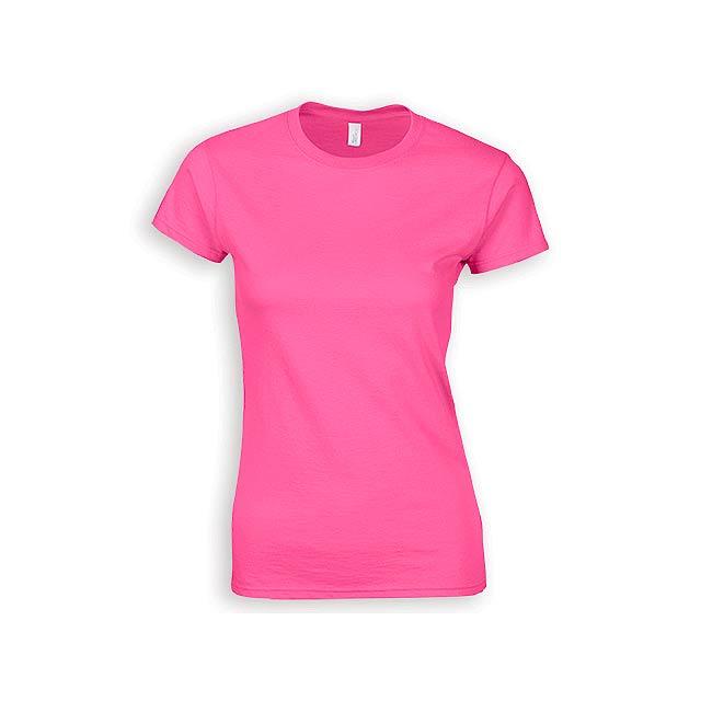 ZIKI WOMEN dámské tričko, 153 g/m2, vel. S, GILDAN, Růžová - růžová