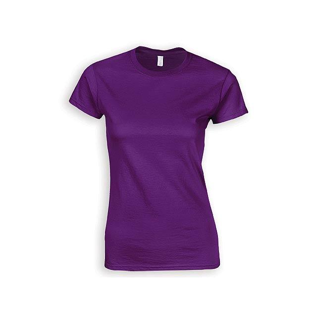 ZIKI WOMEN dámské tričko, 153 g/m2, vel. M, GILDAN, Fialová - fialová
