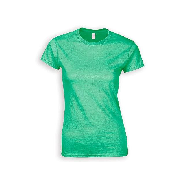 ZIKI WOMEN dámské tričko, 153 g/m2, vel. M, GILDAN, Mátově zelená - zelená