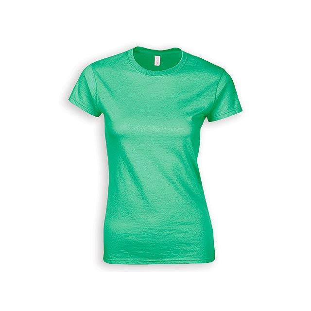 ZIKI WOMEN dámské tričko, 153 g/m2, vel. L, GILDAN, Mátově zelená - zelená