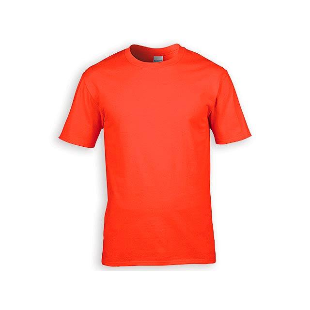 GILDREN PREMIUM unisex tričko, 185 g/m2, vel. S, GILDAN, Oranžová - oranžová