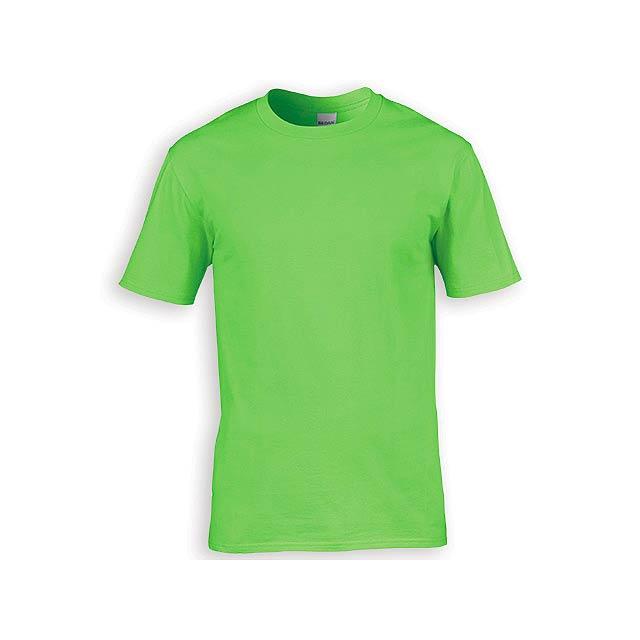 GILDREN PREMIUM unisex tričko, 185 g/m2, vel. S, GILDAN, Světle zelená - zelená