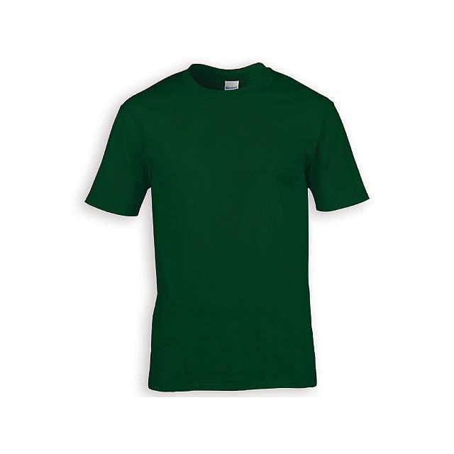 GILDREN PREMIUM unisex tričko, 185 g/m2, vel. S, GILDAN, Lahvově zelená - zelená
