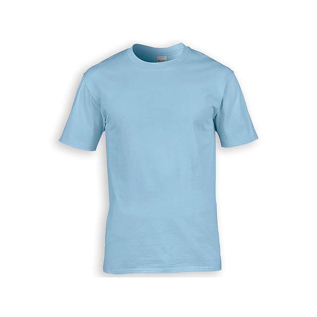 GILDREN PREMIUM unisex tričko, 185 g/m2, vel. M, GILDAN, Světle modrá - modrá