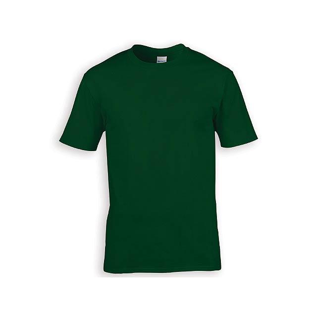 GILDREN PREMIUM unisex tričko, 185 g/m2, vel. M, GILDAN, Lahvově zelená - zelená