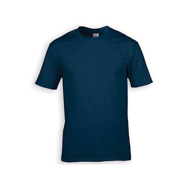 GILDREN PREMIUM unisex tričko, 185 g/m2, vel. L, GILDAN, Noční modrá - modrá