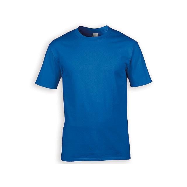 GILDREN PREMIUM unisex tričko, 185 g/m2, vel. XL, GILDAN, Královská modrá - modrá