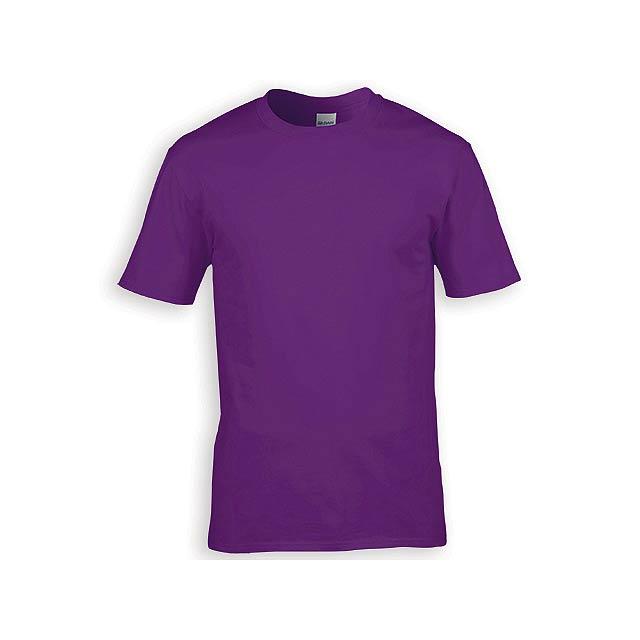 GILDREN PREMIUM unisex tričko, 185 g/m2, vel. XL, GILDAN, Fialová - fialová