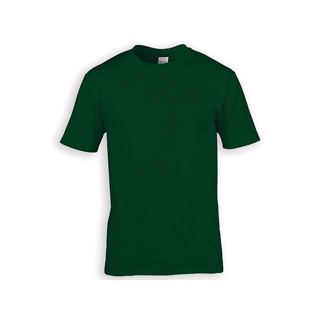 GILDREN PREMIUM unisex tričko, 185 g/m2, vel. XL, GILDAN, Lahvově zelená - zelená
