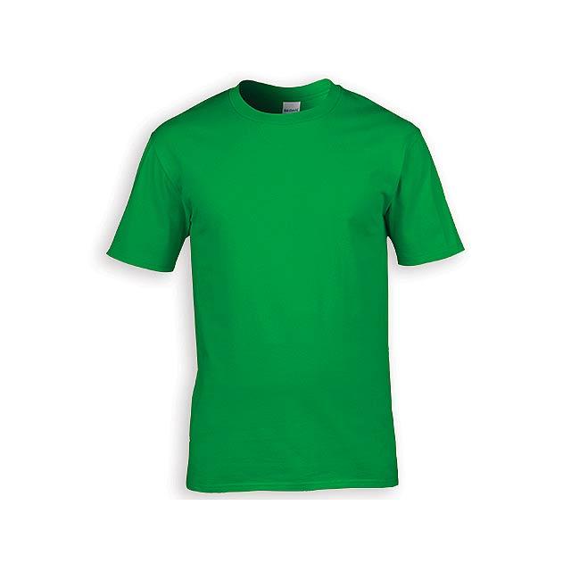 GILDREN PREMIUM unisex tričko, 185 g/m2, vel. XXL, GILDAN, Zelená - zelená