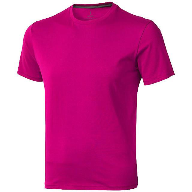 Pánské triko Nanaimo s krátkým rukávem - růžová