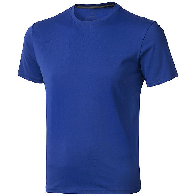 Pánské triko Nanaimo s krátkým rukávem - modrá