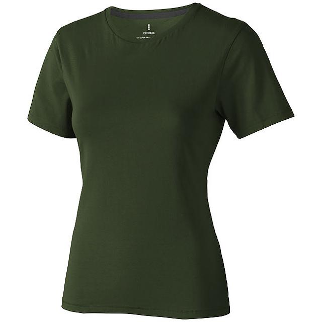 Dámské triko Nanaimo s krátkým rukávem - zelená