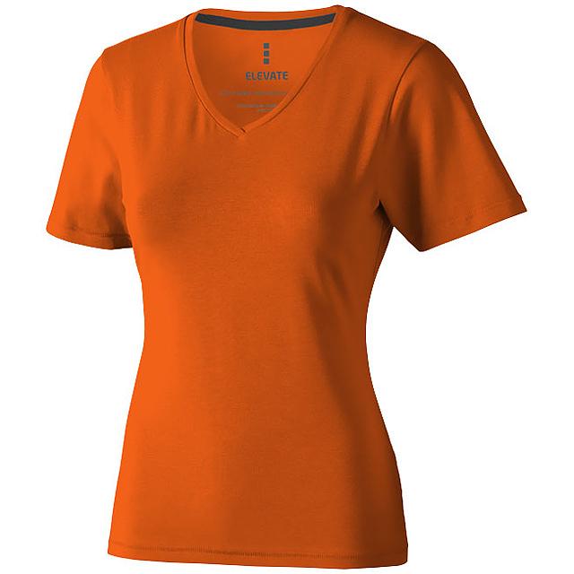 Dámské triko Kawartha s krátkým rukávem, organická bavlna - oranžová