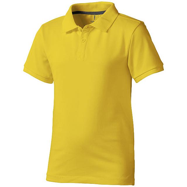 Calgary dětská polokošile - žlutá
