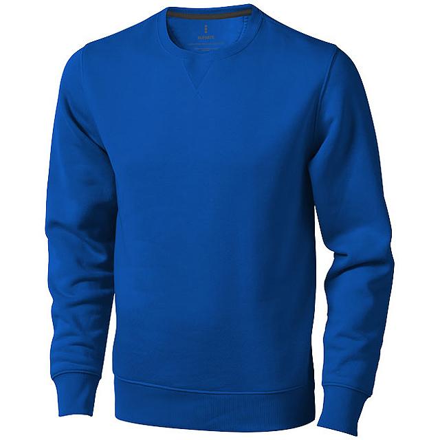Surrey unisex svetr s kulatým výstřihem - modrá