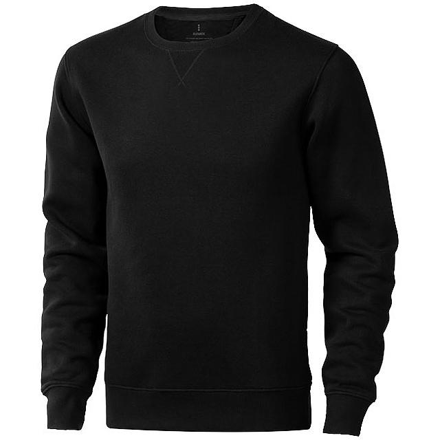 Surrey unisex svetr s kulatým výstřihem - černá