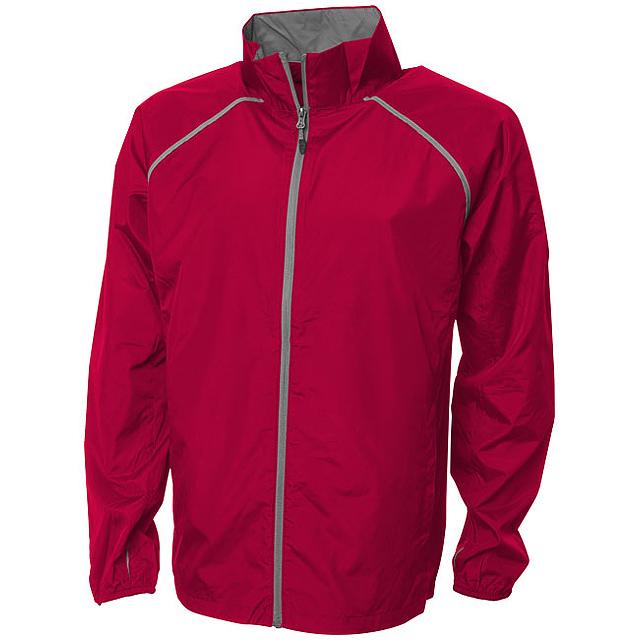 Sbalitelná bunda Egmont - červená