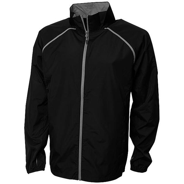 Sbalitelná bunda Egmont - černá