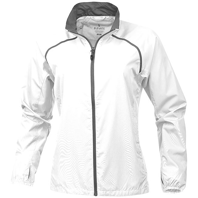 Dámská sbalitelná bunda Egmont - bílá