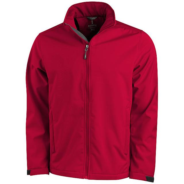 Softshellová bunda Maxson - červená