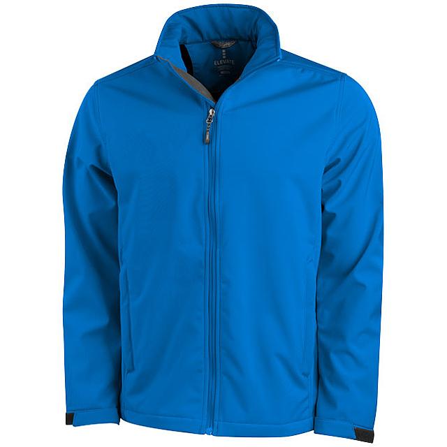 Softshellová bunda Maxson - modrá