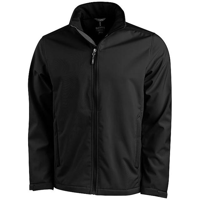 Softshellová bunda Maxson - černá