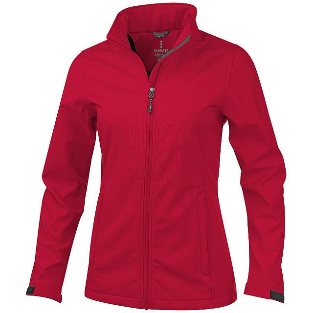 Dámská softshellová bunda Maxson - červená