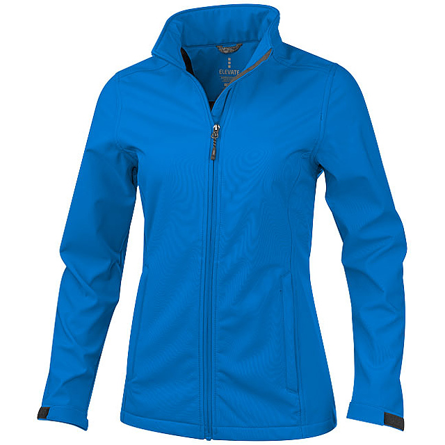 Dámská softshellová bunda Maxson - modrá