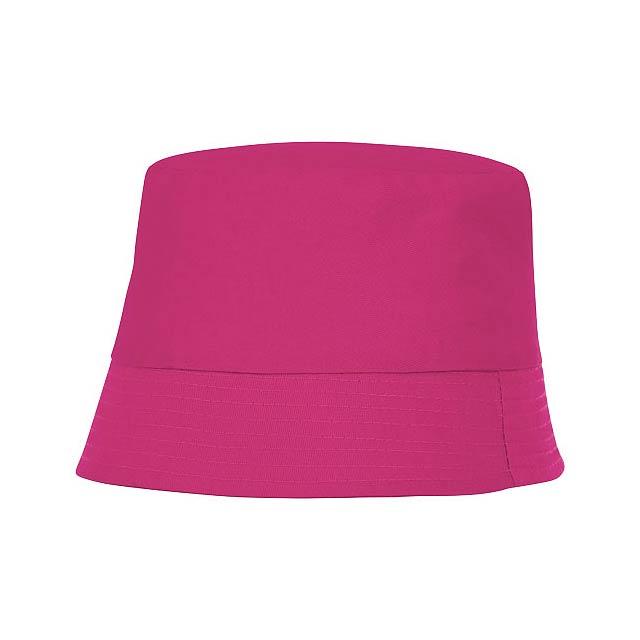 Solaris klobouček - fuchsiová (tm. růžová)
