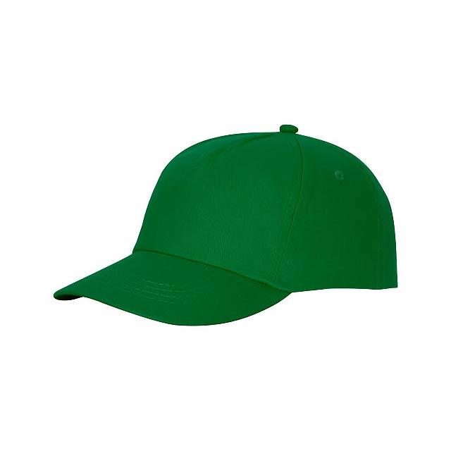 Čepice Feniks, 5 panelů - zelená