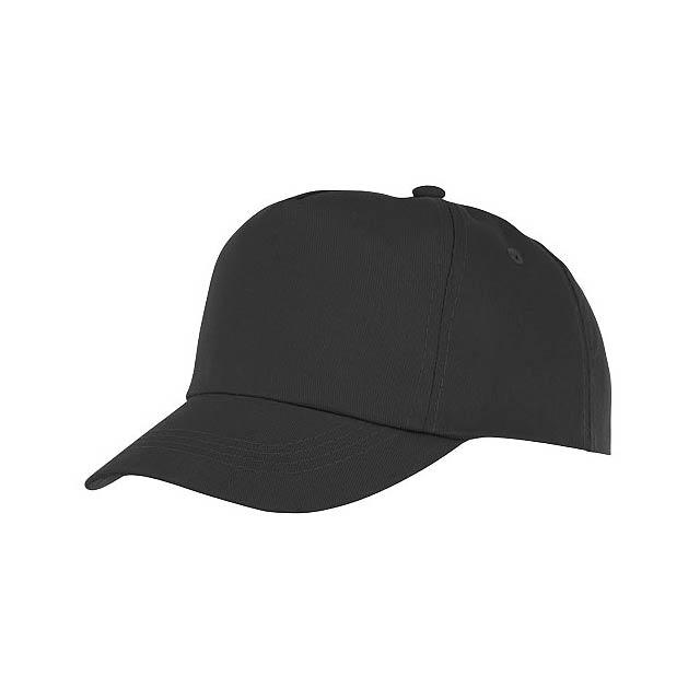 Feniks 5panelová dětská čepice - černá