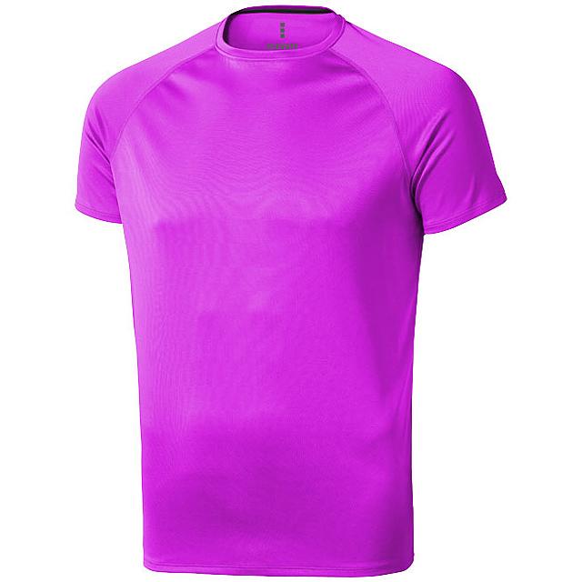 Pánské Tričko Niagara s krátkým rukávem, cool fit - růžová