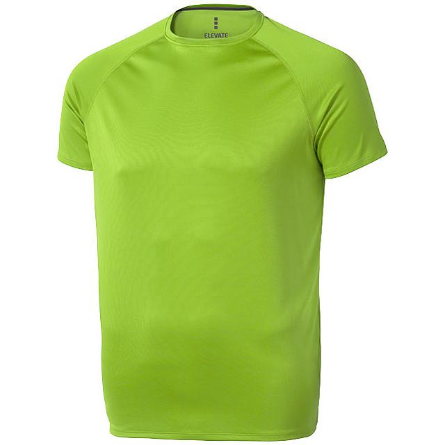 Pánské Tričko Niagara s krátkým rukávem, cool fit - zelená