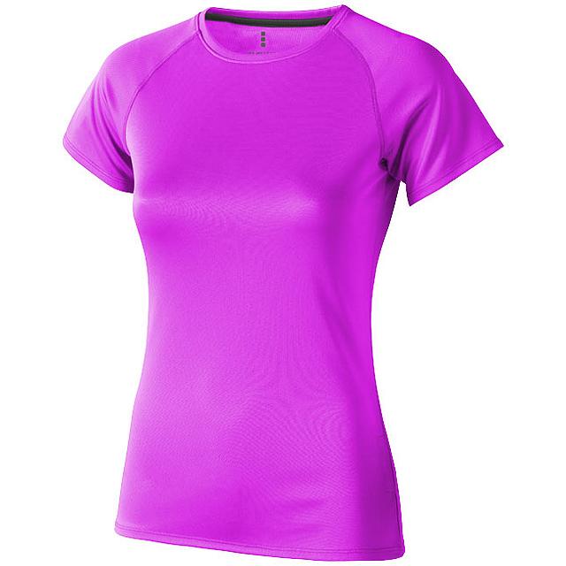 Dámské Tričko Niagara s krátkým rukávem, cool fit - růžová