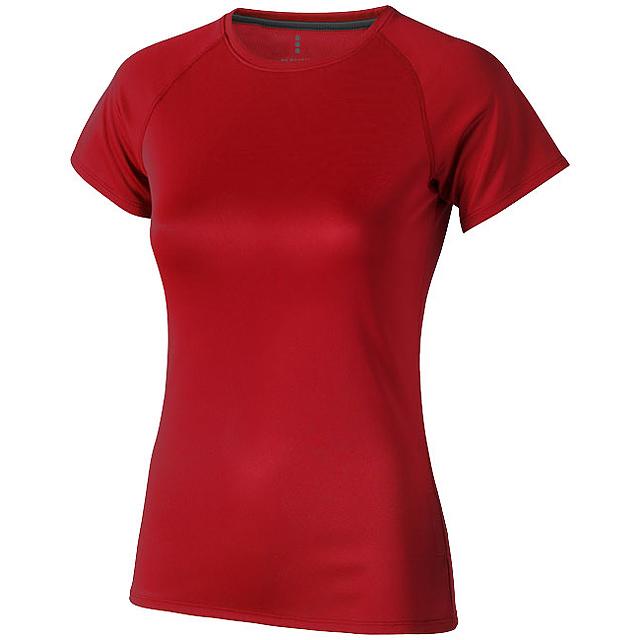 Dámské Tričko Niagara s krátkým rukávem, cool fit - červená