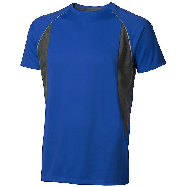 Pánské Tričko Quebec s krátkým rukávem, cool fit - modrá