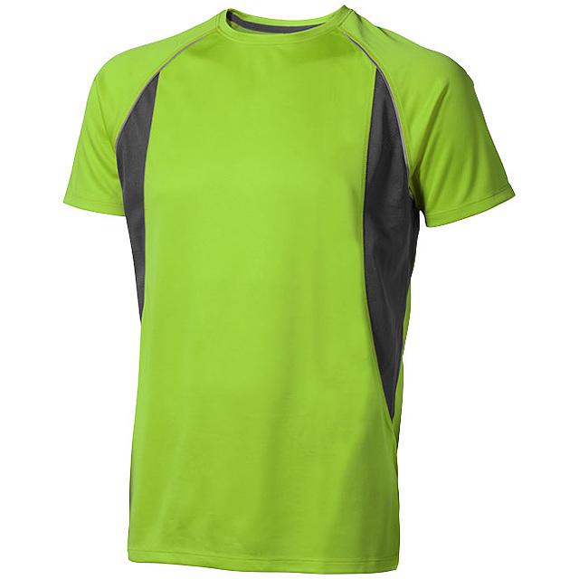 Pánské Tričko Quebec s krátkým rukávem, cool fit - zelená