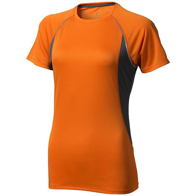 Dámské Tričko Quebec s krátkým rukávem, cool fit - oranžová